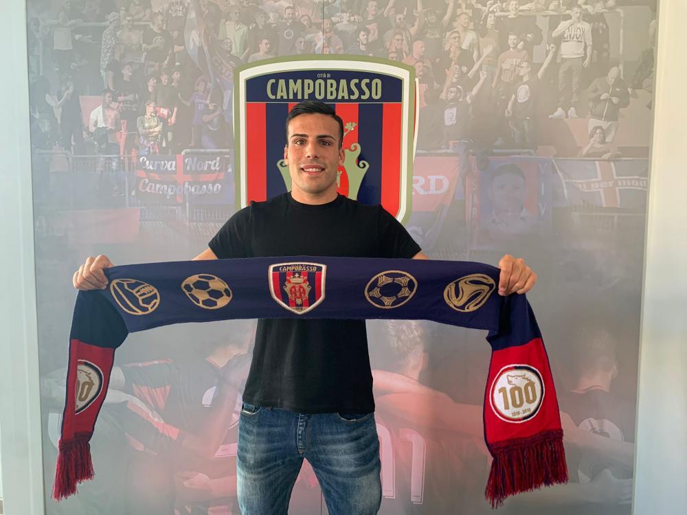 Federico Pace firma col Campobasso